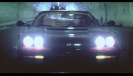 """Kavinsky in his MV for """"Protovision"""""""