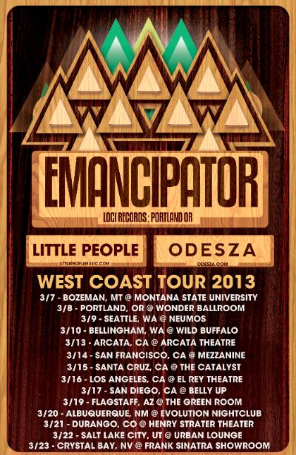 Emancipator 2013 tour dates