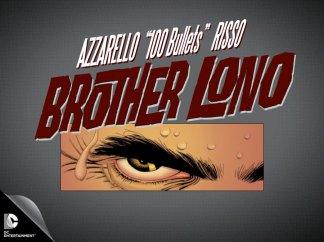 DC | Vertigo unveils Brother Lono