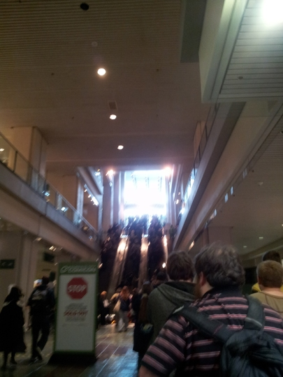 ECCC - Day 1, let's hurry up and get in line!