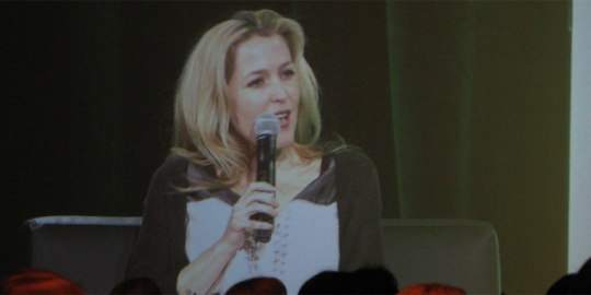 Gillian Anderson: The Truth is in Here panel, ECCC 2013