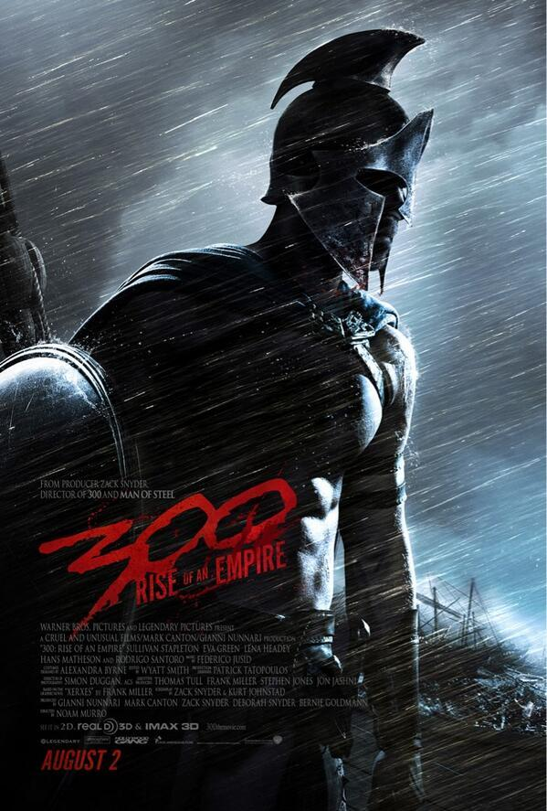 300 rise of an empire first poster