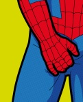 spider man itching