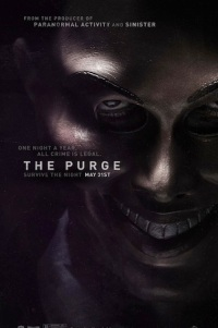 Poster for 2013 horror film The Purge