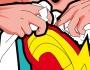 The Secret Life of Heroes by illustrator GregoireGuillemin