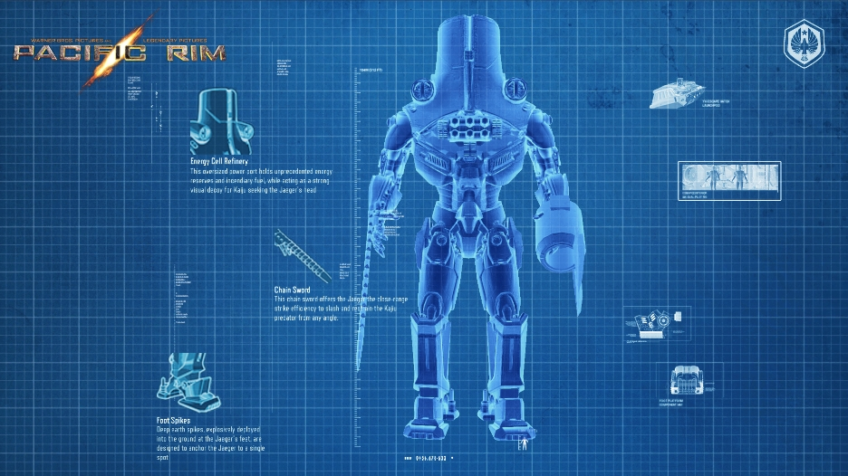 Pacific rim graphic novel tales from year zero arrives for Custom blueprints
