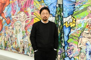 Takashi Murakami Private Preview And Dinner At Blum & Poe, Los Angeles