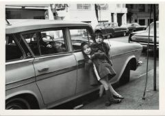 Vivian and Anya Kubrick, New York City 1965
