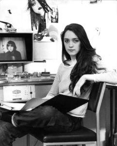 Editing 'Making of The Shining' at EMI studio, 1979