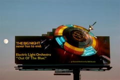 ELO billboard on the Sunset Strip circa 1979