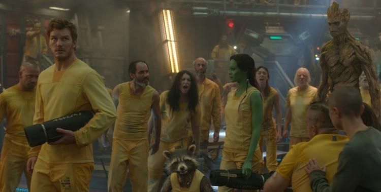 Guardians-Of-The-Galaxy-Peter-Quill-Gamora-Rocket-enter-Kyln-Prison